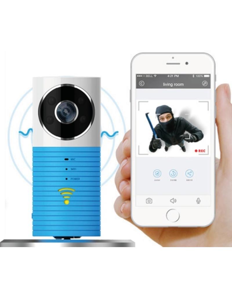 Cleverdog WiFi-Babyfon blau