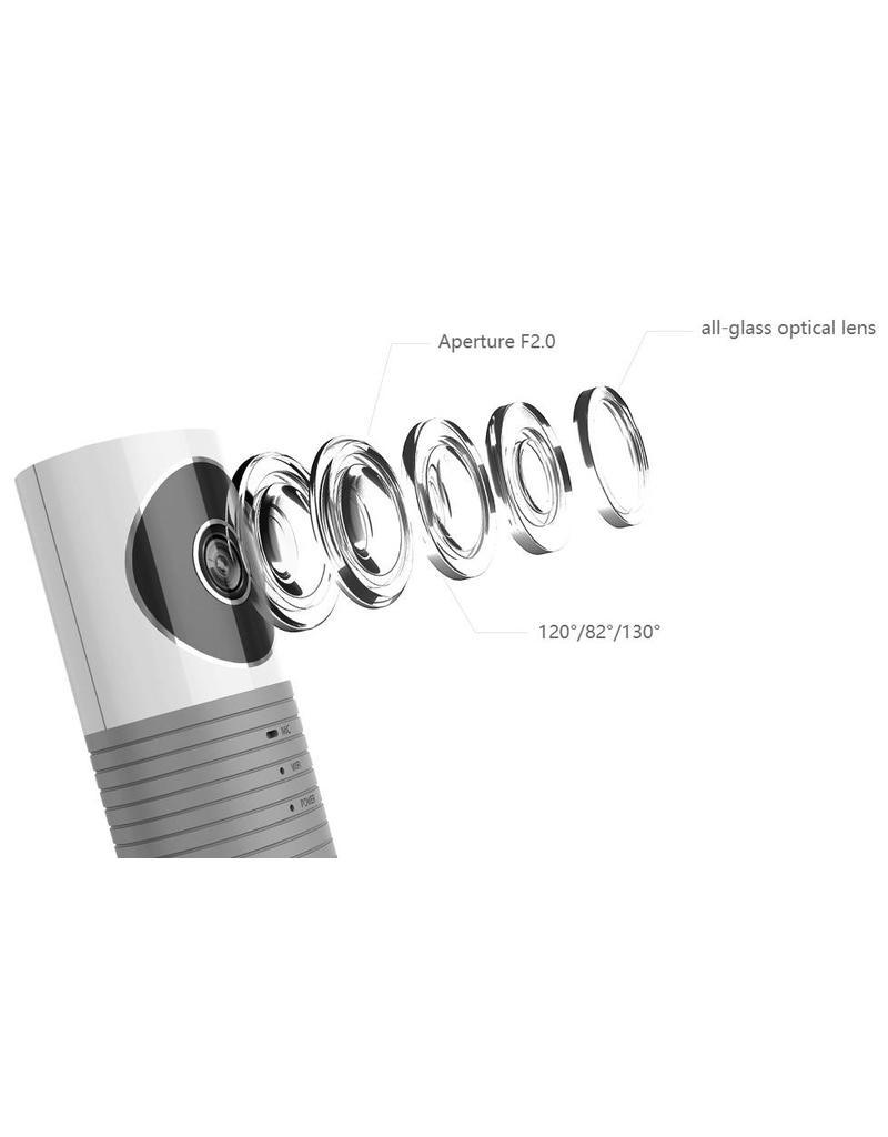 Cleverdog WiFi Kamera grau 120 ° Betrachtungswinkel