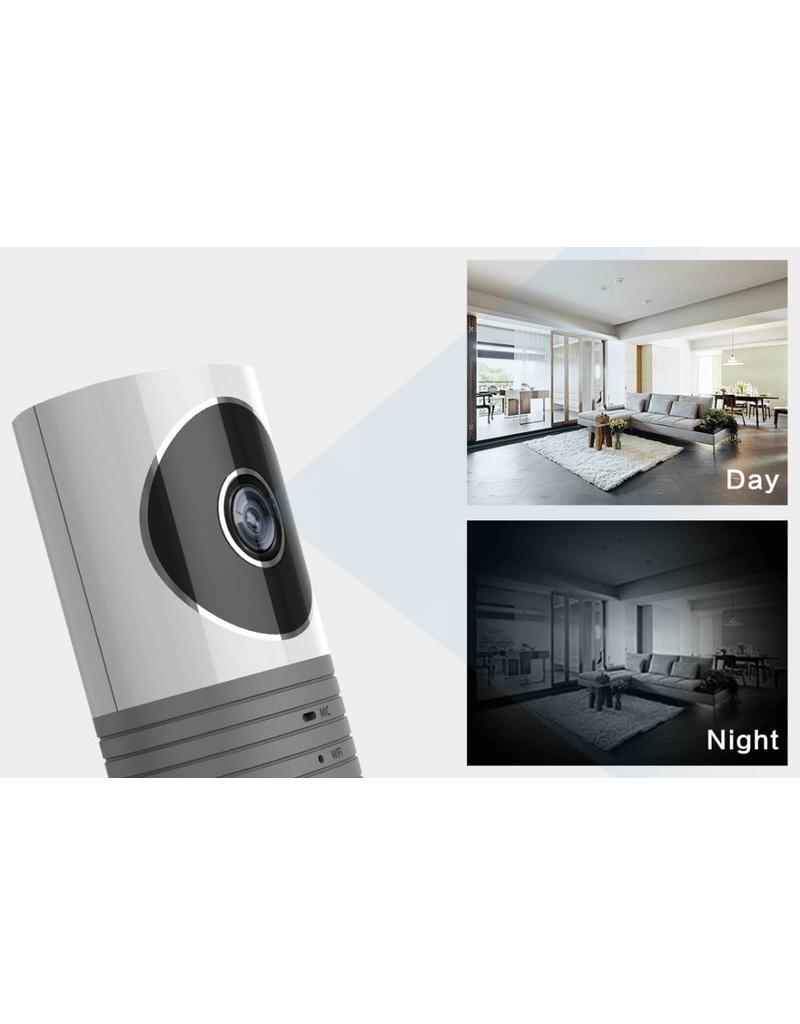 Nieuw Cleverdog wifi camera grijs 120° kijkhoek