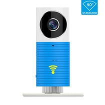Cleverdog wifi Kamera neues Modell, 1280 x 720 Pixel und Option Cloud-Speicher, blau