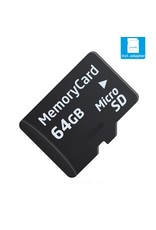 Kingston 64 GB SD card Class 10 Speed + SD adapter