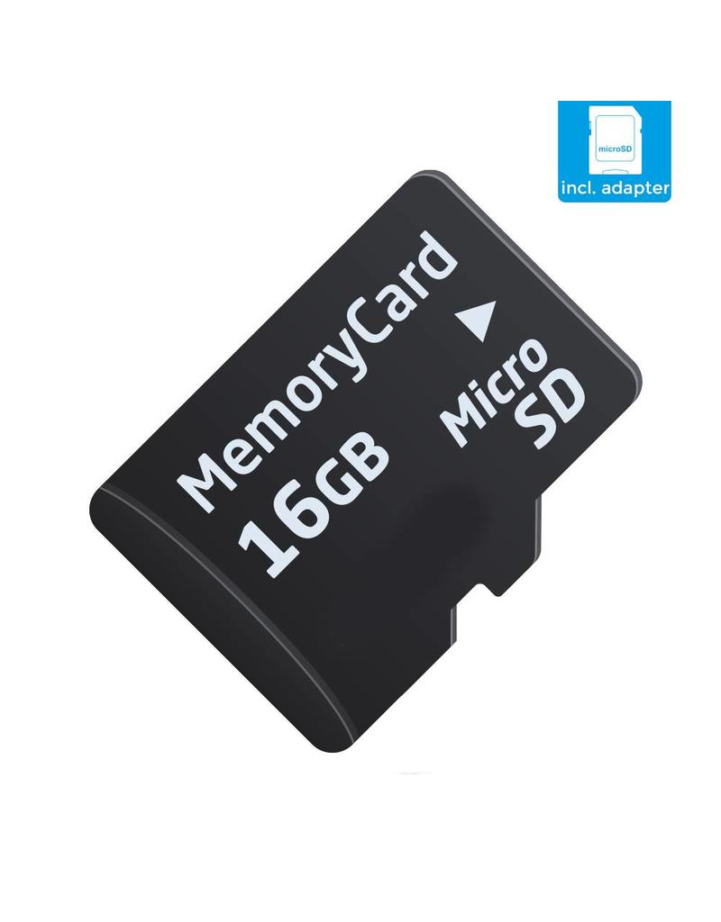 SanDisk 16 GB SD card Class 10 Speed + SD adapter
