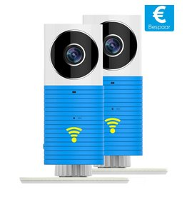 Cleverdog wifi camera Duo-Pack. Combineer kleur.
