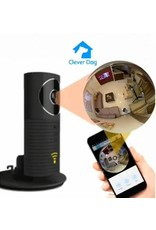 Cleverdog Panorama WiFi Camera Black