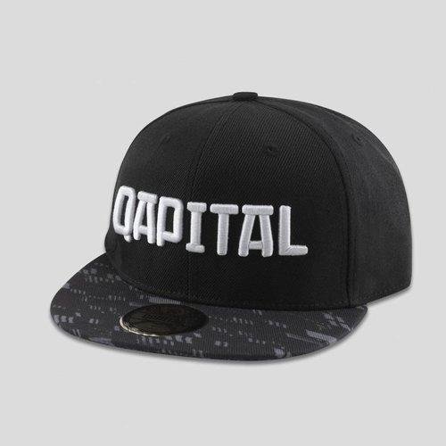 QAPITAL QAPITAL SNAPBACK BLACK/GREY