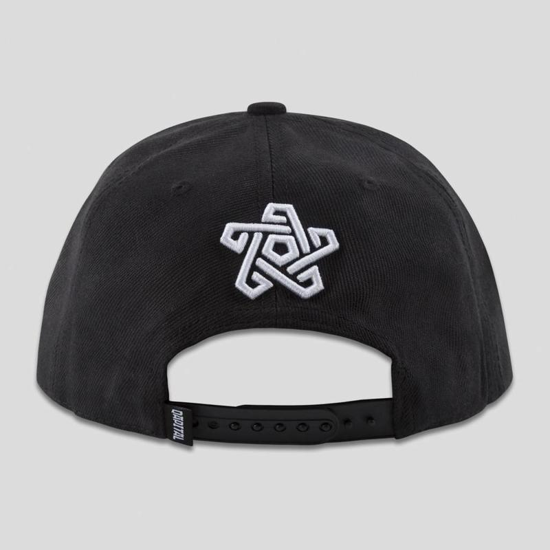 QAPITAL SNAPBACK BLACK/GREY
