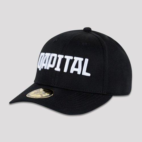 QAPITAL QAPITAL BASEBALL CAP BLACK