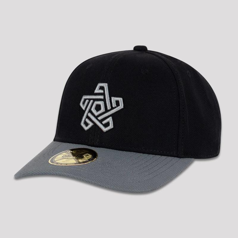 QAPITAL BASEBALL CAP BLACK/GREY