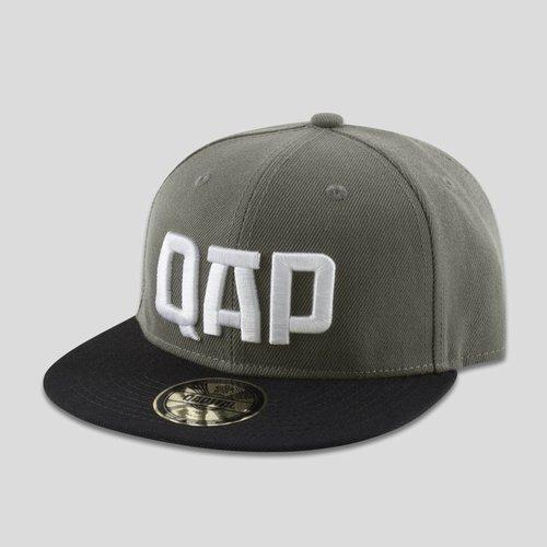 QAPITAL QAPITAL SNAPBACK GREY/BLACK