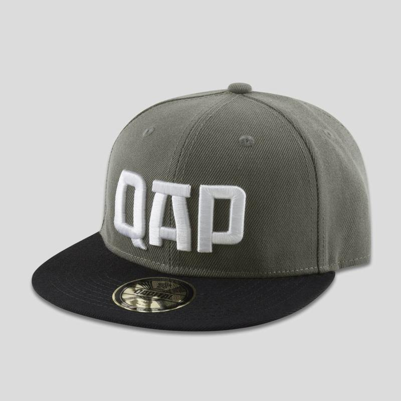 QAPITAL SNAPBACK GREY/BLACK