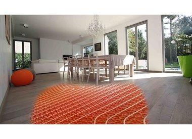 Ondervloer laminaat vloerverwarming