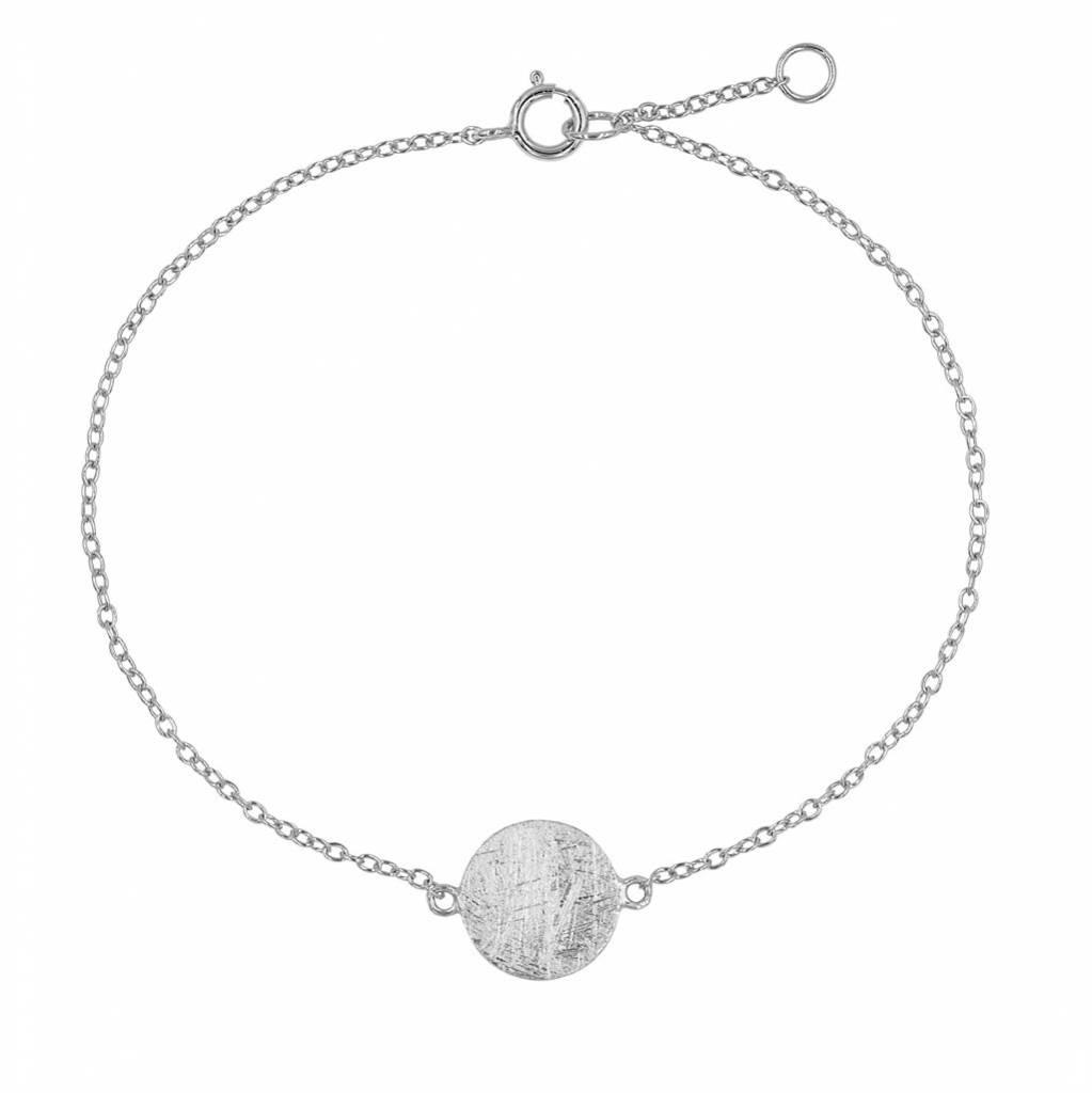 Armband mit Plättchen aus 925 Sterling Silber