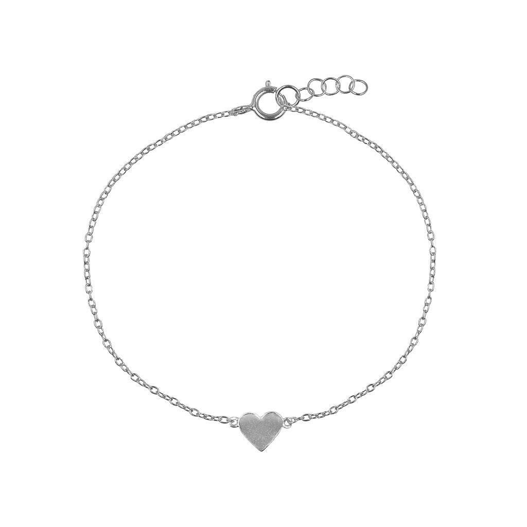 Armband aus  Silber mit kleinem Herz