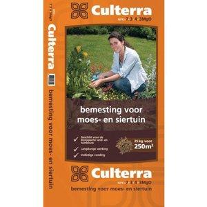 Culterra 7-3-4+3MgO BIO Meststof oranje 25 kg voor moes en siertuin