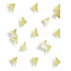 Umbra Confetti Triangles Muurdecoratie 16 stuks