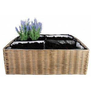 Esschert Design Opvouwbare vierkante meter tuin - B1006