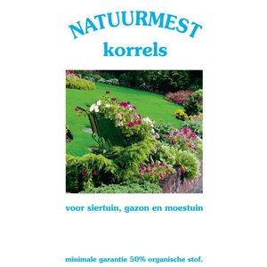Culterra Natuurmest korrel 25KG tuinmest