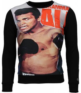 Local Fanatic Local Fanatic - Muhammad Ali Boxing Zwart
