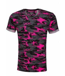 Arya boy Arya Boy - Gino T-shirt Roze