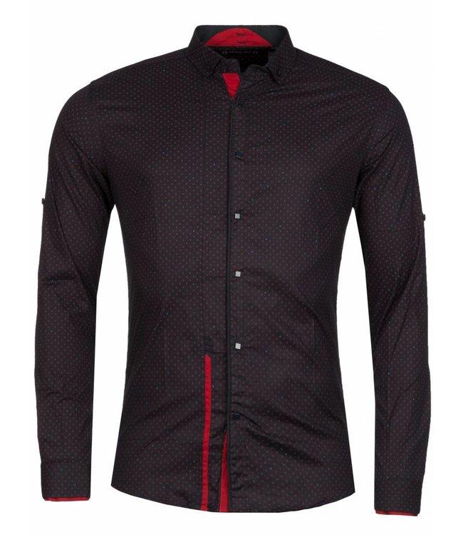 Young & Rich Overhemd Trade Zwart
