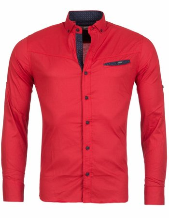 Rerock - Overhemd Lite Rood