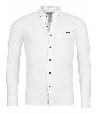 Rerock Overhemd Lite Wit