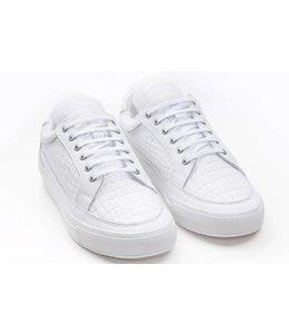 G3ntz Exclusive Shoes Echt Leder Wit