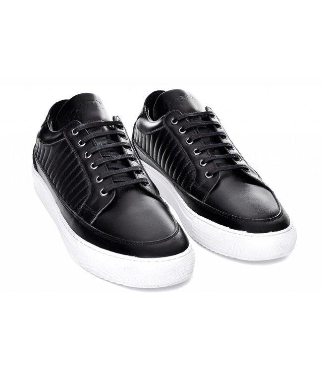 G3ntz Exclusive Shoes Echt Leder Zwart