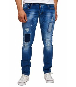 Hardsoda Exclusive Slim Fit Biker Jeans D'Sandro