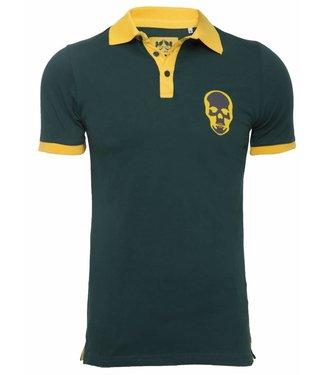 Pascucci Armando Polo shirt Skull Groen