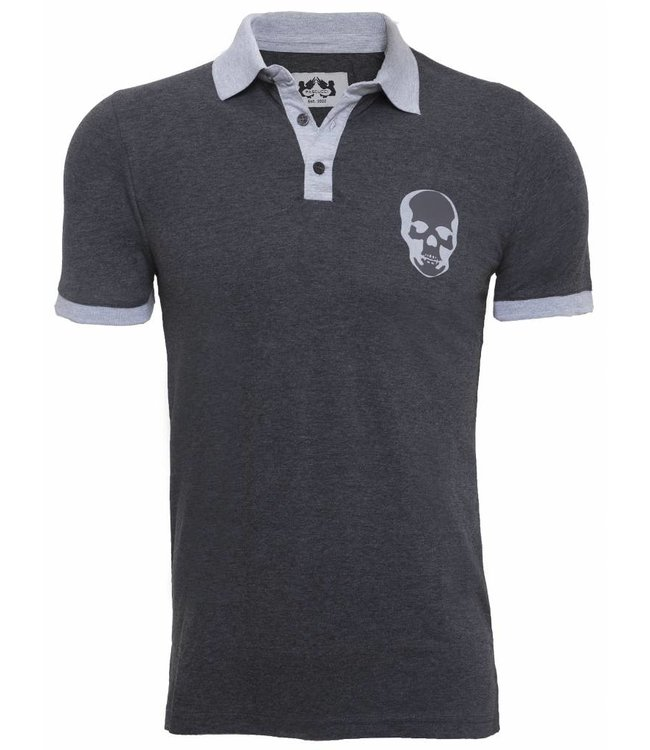 Pascucci Armando Polo shirt Antraciet