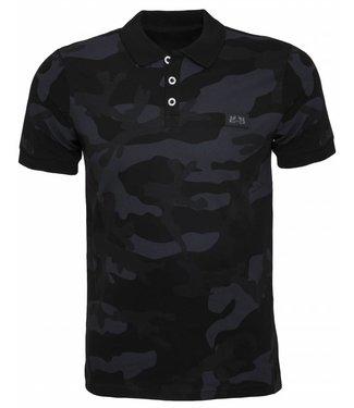 Pascucci Camouflage Polo - Zwart