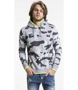 Pascucci Nicolai Army Sweater Grijs