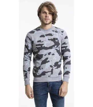 Pascucci Enrico Army Sweater Grijs