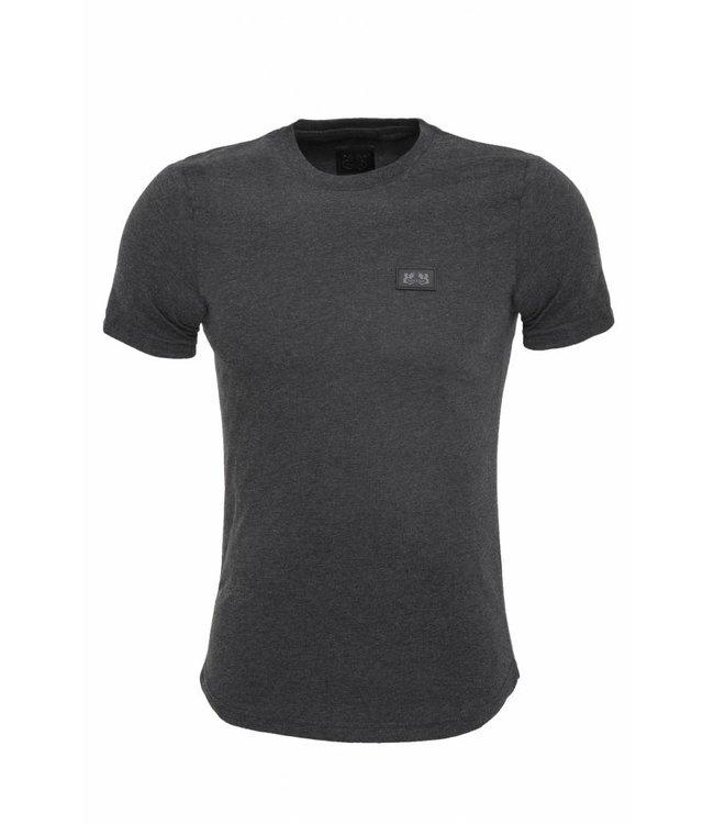 Pascucci Casual  T-Shirt Stretch Grijs