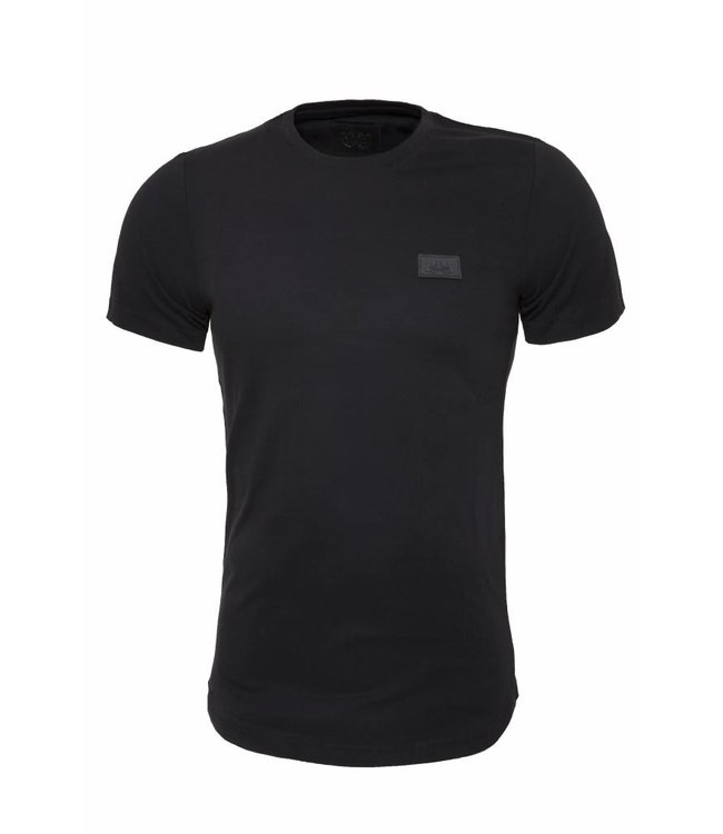 Pascucci Casual  T-Shirt Stretch Zwart