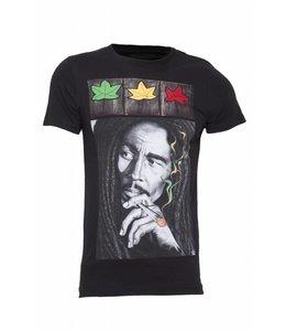Pascucci Soul T-Shirt Stretch Zwart