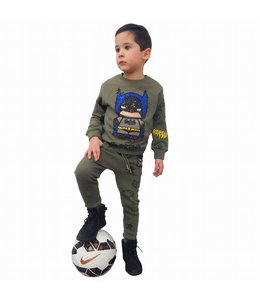 G-Brand Batman Joggingpak Groen Kids