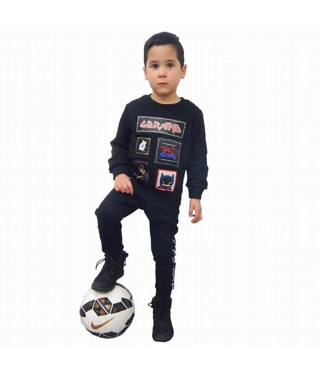 G-Brand Bad Boys Joggingpak Zwart Kids