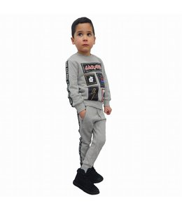 G-Brand Bad Boys Joggingpak Grijs Kids