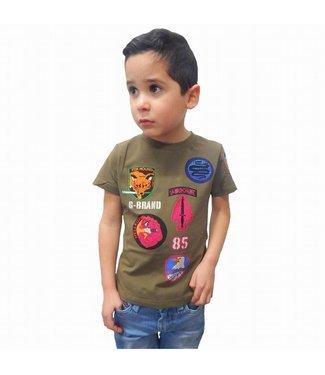 G-Brand Airborne Groen Kids