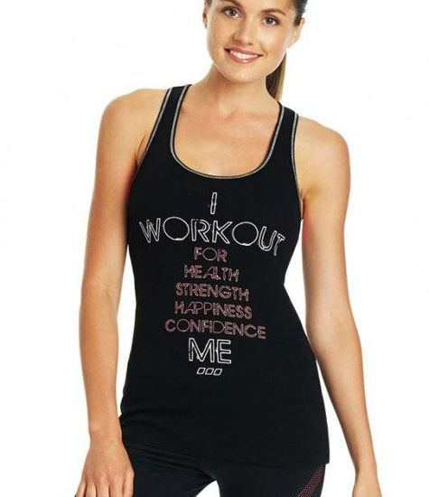 Lorna Jane I Workout For Me Tank