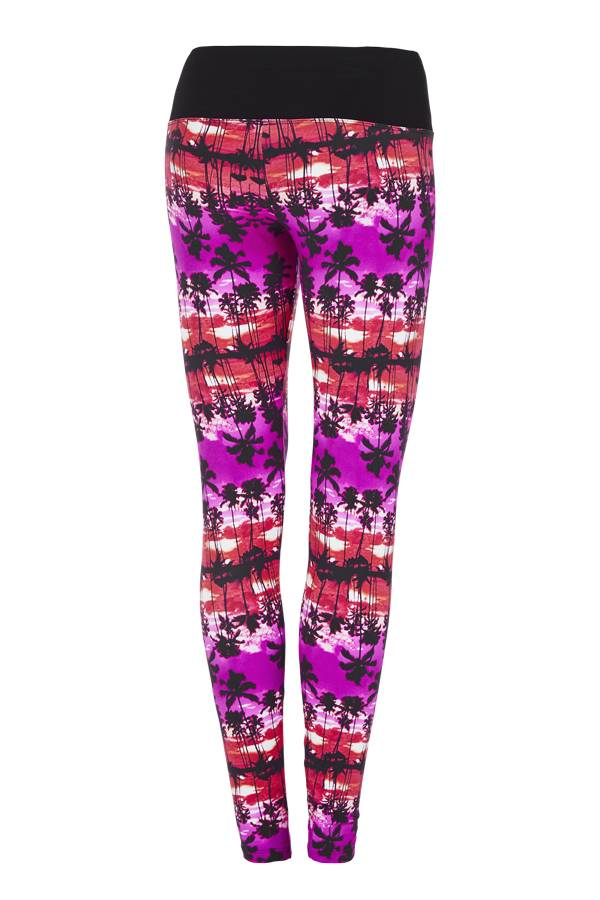 Lorna Jane Paradise Printed F/L Tight
