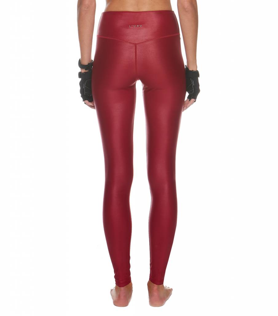 L'urv Men Are From Mars Legging (Plum)