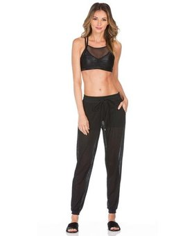 Koral Activewear Double layer joggingsbroek (zwart)