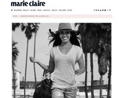 Stella Soekhlall 'inspiring woman' in Marie Claire (JULY 2014)