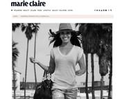 Stella Soekhlall 'inspiring woman' in Marie Claire (JULY 2014)