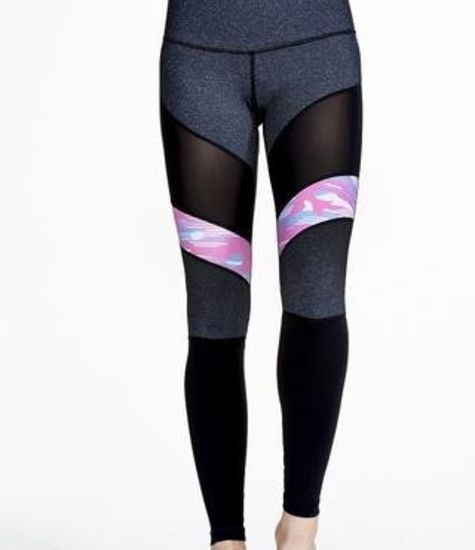 Vimmia Warrior One Breast Cancer Awareness Legging