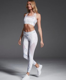 Varley Barry Carrera Marble Legging