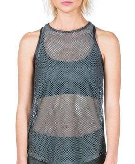Koral Activewear Aerate Tank (Olive Green)